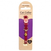 Rosewood Cherry Designer Cat Collar