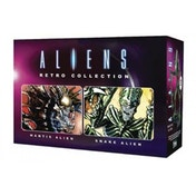 Retro Mantis & Snake Set (Aliens) Figure Collection