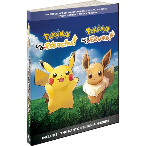 Pokemon Let's Go Pikachu! & Eevee! Official Trainer's Guide & Pokedex