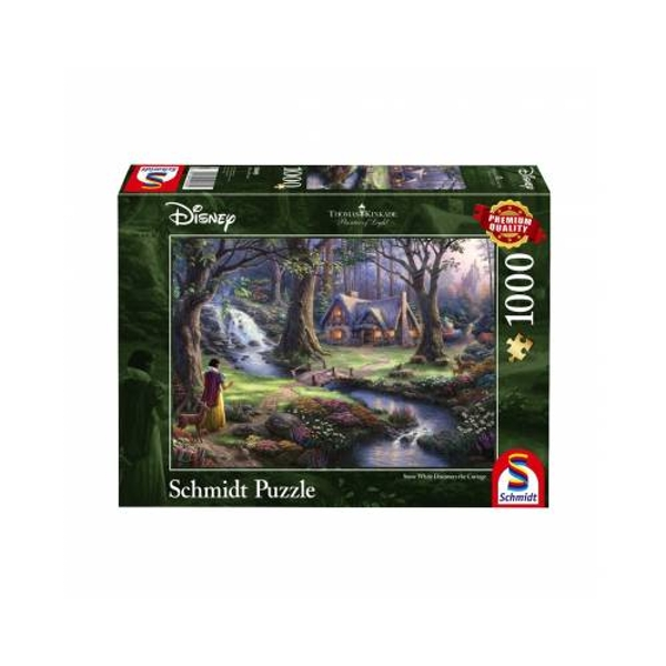 Thomas Kinkade Snow White 1000 Piece Jigsaw Puzzle
