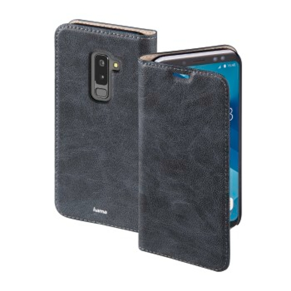 """Hama """"Guard Case"""" Booklet for Samsung Galaxy A6+ (2018), blue"""