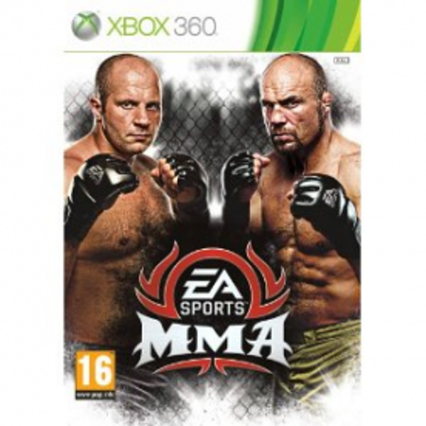 EA Sports MMA Mixed Martial Arts Game Xbox 360