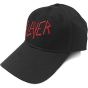 Slayer - Red Logo Men's Baseball Cap - Black
