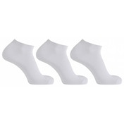 Horizon Sports Trainer Socks 3ppk White UK Size 4-7