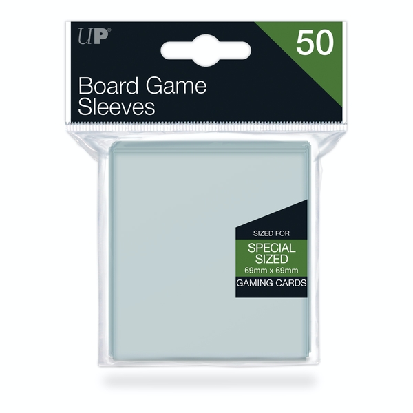 Ultra Pro Board Game Sleeves: 69x69mm - 50 Sleeves
