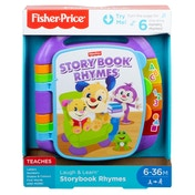 Fisher-Price Laugh and Learn Story, Rhymes, Electronic Educational Toddler Baby Book