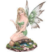 Lotus Fairy Figurine