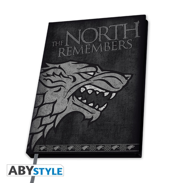 Game Of Thrones - Stark A5 Notebook