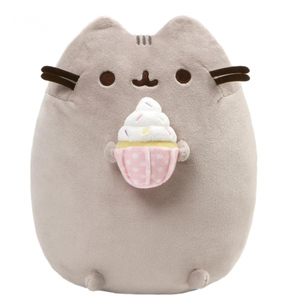 Snackable Sprinkled Cupcake (GUND) Pusheen Soft Toy