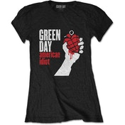 Green Day - American Idiot Women's X-Large T-Shirt - Black