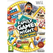Hasbro Family Game Night 4 The Game Show Edition Wii