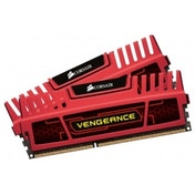 Corsair 8GB 2 x 4 GB DDR3 Vengeance Memory Red CMZ8GX3M2A1600C9R