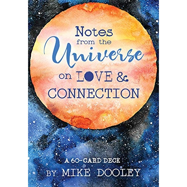 Notes from the Universe on Love & Connection A 60-Card Deck Cards 2018