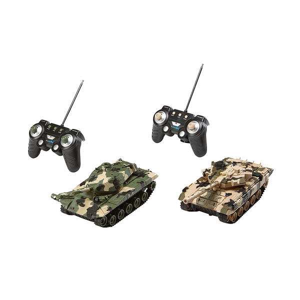 Battle Game Revell Radio Controlled Tanks 2 Pack