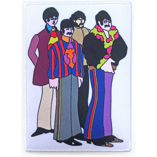 The Beatles - Sub Band Border Standard Patch