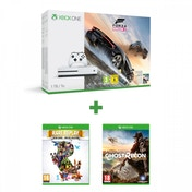 Microsoft Xbox One S 1TB Forza Horizon 3 Console + Ghost Recon Wildlands + Rare Replay