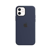 Apple Silicone Case with MagSafe (for iPhone 12 | 12 Pro) - Deep Navy