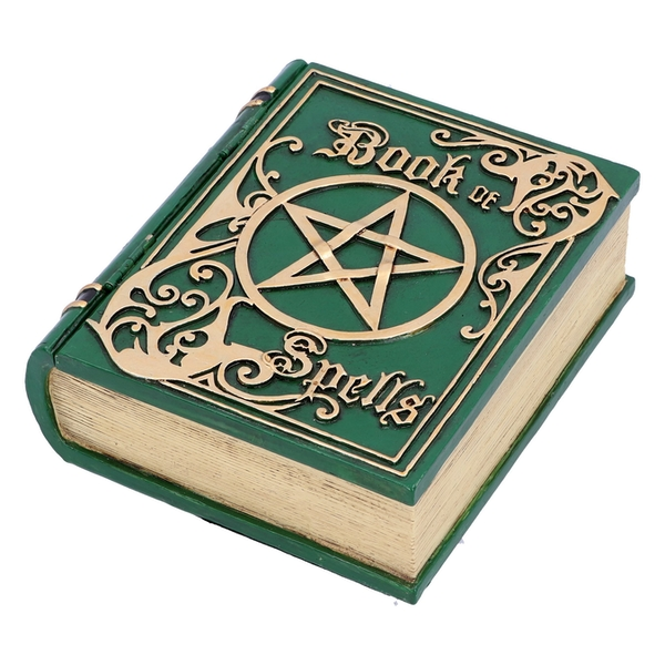 Book of Spells Green Storage Box