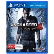 Uncharted 4 A Thief's End PS4 Game (Australian Stock)