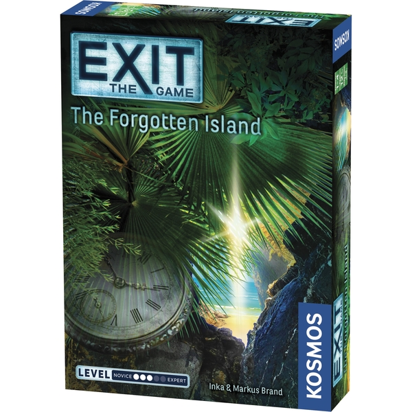 Exit: The Forgotten Island Board Game [Damaged Packaging]