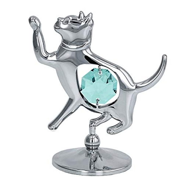 Crystocraft Cat Ornament - Crystals From Swarovski?