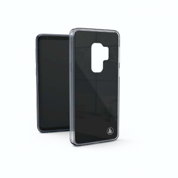 """Hama """"Glass"""" Cover for Samsung Galaxy S9, black"""