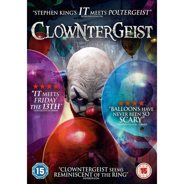 Clowntergeist DVD