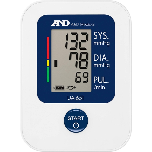 A&D Medical UA651 Upper Arm Blood Pressure Monitor
