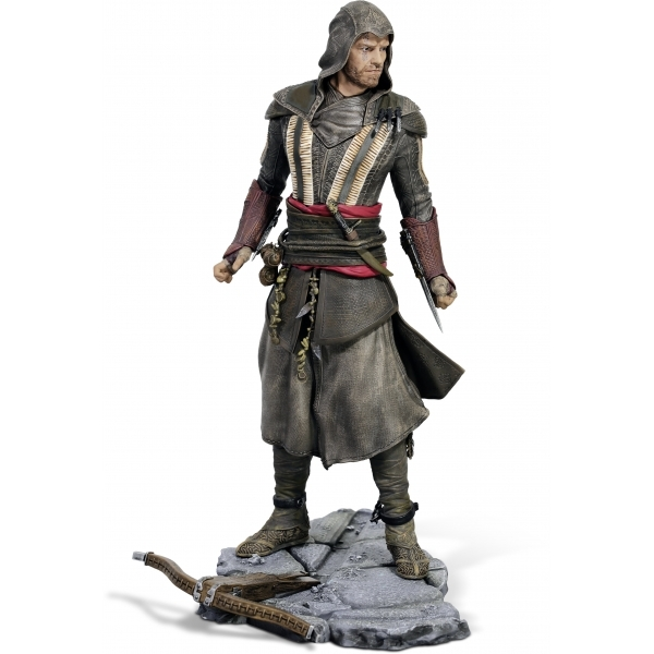 Ex-Display Aguilar Michael Fassbender (Assassin's Creed Movie) Ubi Collectables Figurine Used - Like New