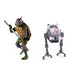 Donatello V Krang In Bubble Walker (Teenage Mutant Ninja Turtles Cartoon) Neca Action Figure 2-Pack - Image 2