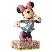 Minnie with 'Call Me' List Disney Traditions Figurine