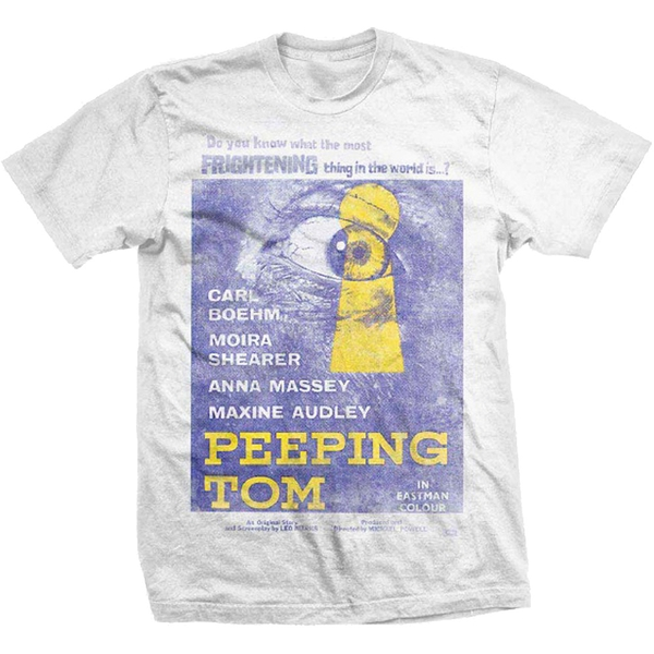 StudioCanal - Peeping Tom Unisex Small T-Shirt - White