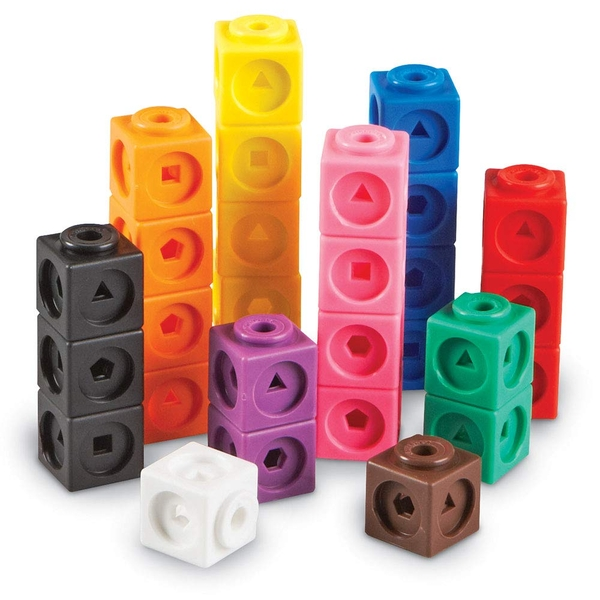 Mathlink Cubes Set Of 100 (10 Colours)