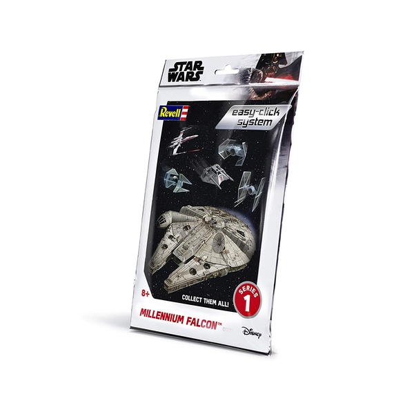 Millennium Falcon Star Wars 1:241 Scale Easy Click Revell Model Kit Bag