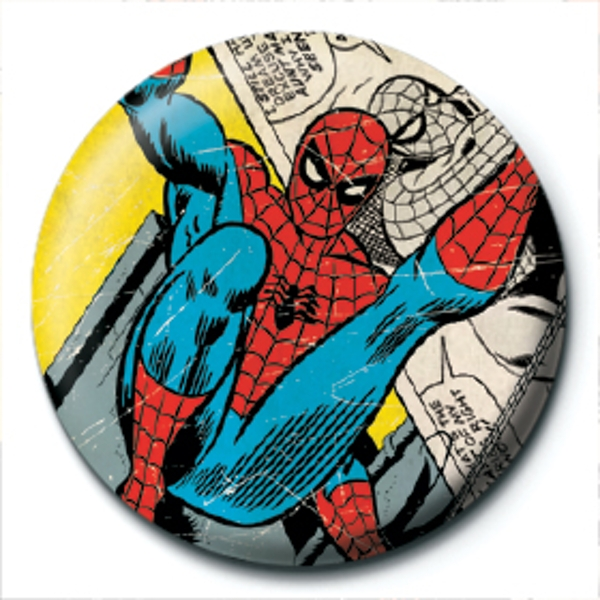 Marvel Retro - Spider-Man Comic Badge