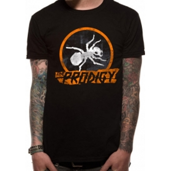 The Prodigy Ant T-Shirt Small - Black