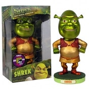 Exclusive Metallic Shrek Bobble Head