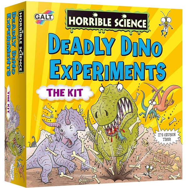 Deadly Dino Experiments Horrible Science Activity Set