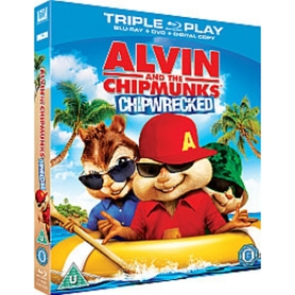 Alvin & The Chipmunks Chipwrecked Triple Play Blu Ray