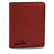 Ultra Pro Premium Pro Binder Red