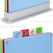 Coloured Index Chopping Board Set | M&W - Image 2