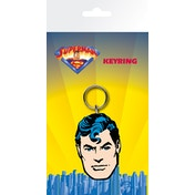 Superman Face Key Ring