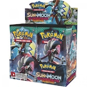 Ex-Display Pokemon TCG Sun & Moon: Guardians Rising Booster Box (36 Packs) Used - Like New