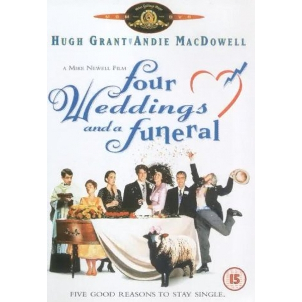 Four Weddings And A Funeral 1994 DVD