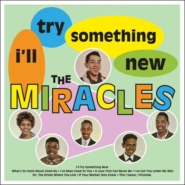 The Miracles - I'll Try Something New Vinyl