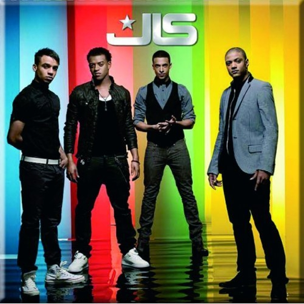 JLS - Stripes Fridge Magnet