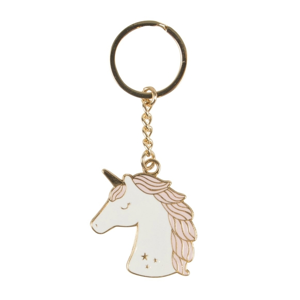 Sass & Belle Rainbow Unicorn Keyring