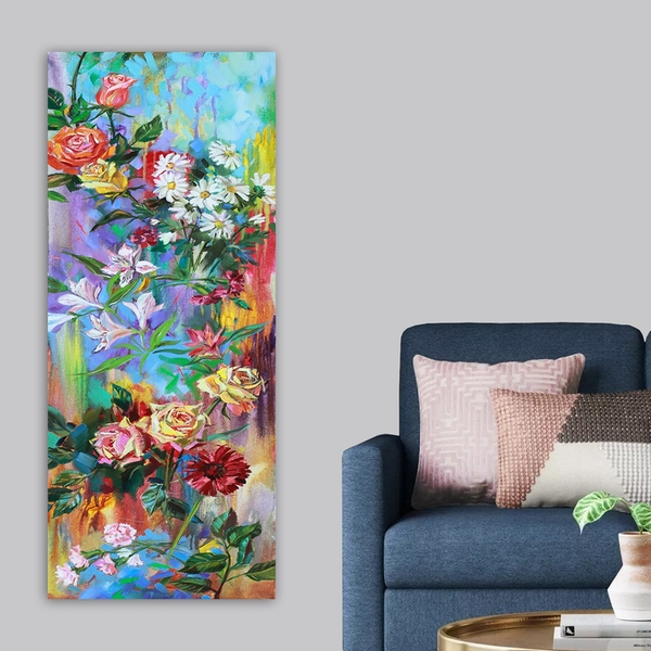 DKY246054484_50120 Multicolor Decorative Canvas Painting