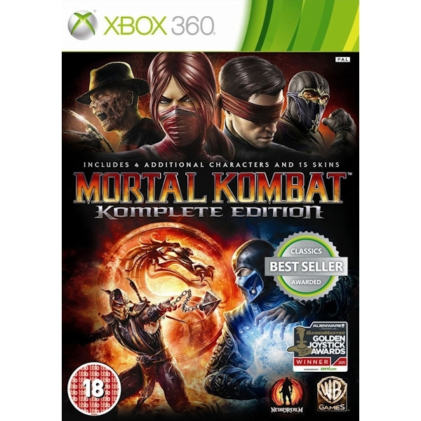 Mortal Kombat Komplete (Complete) Edition (Classics) Game Xbox 360 - Image 1