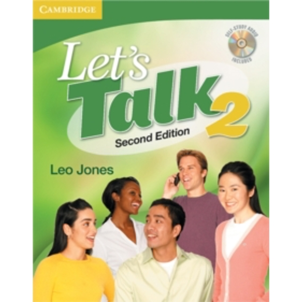 Let's Talk Level 2 Student's Book with Self-study Audio CD by Leo Jones (Mixed media product, 2007)